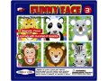MAGNETIC FUNNY FACE JUNGLE ANIMAL TIN BOX contents 24 magnetic pcs  6 picturesanimals Do your own mix and match and create your very own funny Jungle Animal  Simply putting different eyes noses mouths and ears on the provided animal pictures and make hundred of different faces Please Click the image for more information.