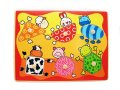 ANIMAL SHAPE PUZZLE THIS PUZZLE WILL ASSIST COLOUR SHAPES AND ANIMAL LEANING6 DIFFERENT SHAPES 6 DIFFERENT ANIMALSHELPS WITH EYE AND HAND CO ORDINATION Please Click the image for more information.