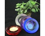DISC SHAPETEALIGHT/VOTIVE GLASS CANDLE HOLDER APPROX 7 CM DIAMETER GLASS TEALIGHTVOTIVE CANDLE HOLDER  AVAILABLE IN 4 COLOURS SOLD IN UNITS OF 16 Please Click the image for more information.