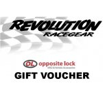 $125.00 Gift Voucher Revolution Racegear Gift VoucherThe perfect gift idea for Birthdays and ChristmasRedeemable at all Revolution Racegear and Opposite Lock stores across Australia. Please Click the image for more information.