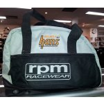 RPM HELMET & HANS BAG Fantastic RPM product to keep your HANS device and helmet together in one bagThis stylish bag features breather holes to assist in keeping your helmet fresh. Please Click the image for more information.