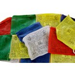 Prayer flags Tibetan prayer flags Windhorse  20 flags in one string each one approx 115mm x 115mm high quality   45 x . Please Click the image for more information.