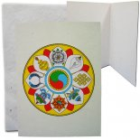Eight Auspicious Symbols of Buddhism x 4