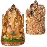 Small Gold Ganesh  Small golden Ganesha statue Small and with fine detail Comes in a padded gift box with storyGaneshastatue Remo. Please Click the image for more information.