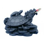 BLack Money Turtle Black money turlte with baby on back Comes with coins and in gift box  Please Click the image for more information.