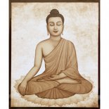 Buddha Picture 400mm x 500mm Buddha in beautiful print on canvas picture  Please Click the image for more information.