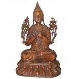  Tsongkhapa bronze statue