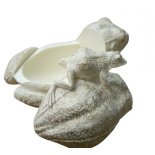 Frog with Baby Statue Trinket Box Frog with Baby Statue  Love  Family trinket box Please Click the image for more information.