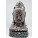 Quan Yin incense  holder 241 Gorgeous Quan Yin bust can be used as a statue or as an incense holder for sticks or cones Made from pottery the head is lifted off and the base can be used T. Please Click the image for more information.