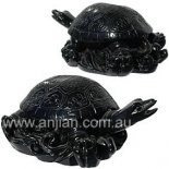 Turtle Statue Black 45mm The Ancient Money Turtle with the head of the Dragon and body of the Turtle Please Click the image for more information.