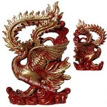 Phoenix Statue Red 150mm Glorious red Phoenix statue Please Click the image for more information.