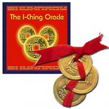 I Ching Oracle Book with 3 Coins The I Ching Oracle booklet by Anjian It comes with three I Ching coins This is a simple booklet to help beginners understand how to throw and how to read the the coinsSt. Please Click the image for more information.