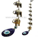 seven silver elephants Seven silver elephants with evil eye  For hundreds of years the Evil Eye  also known as Nazar Boncuk in Turkey was used as an amulet to ward of evil intentions such as envy and misfortune The st. Please Click the image for more information.