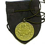 Longevity Pendant with Pouch