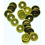 Gold I Ching Coins 275mm Pack of 10