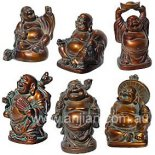 Box of 6 Standing Laughing Buddha Statues Antique 57mm Box of 6 Standing Laughing Buddha Statues Antique 57mm Please Click the image for more information.
