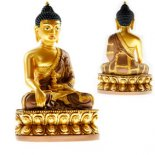 Buddha Akshobhya holding vajra  