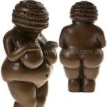 Venus of Willendorf Statue, Pocket size, Antique Brown, 70mm Venus of Willendorf pocket size figurine does not stand as it is meant to be laying down or held in handF. Please Click the image for more information.