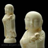 Jizo two children 100mm Jizo statue and two little children representing child protectionmade from crushed marble and rin composite comes in a beautifully presented gift box and story Please Click the image for more information.