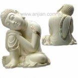 small resting Buddha 115mm Small resting Buddha statuepeaceful and relaxing to look at This statue has a most beautiful expression Ma. Please Click the image for more information.