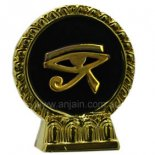 Eye of Horus in frame Eye of Horus or Eye of Ra in frame on stand Gold and Black handpaintedProtection In ancient Egypt the Eye of Horus was believed to have healing and protective powers and it was used as a protective amuletThe Eye o. Please Click the image for more information.