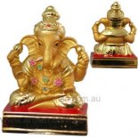 Ganesha four arms on platform 75mm