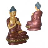 Vairocana Buddha 100nn bronze and gold