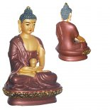 Amitabah Buddha 100mm bronze and gold Amitabah Buddha  statueThe Buddha of Infinite LightAmitabah is associated with the pure land  or paradise  Amit. Please Click the image for more information.