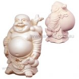 Laughing Buddha Statue, Standing, Laughing Buddha Statue Standing statue in white Carrying a money sackFor Flying stars 2010 place in the southeast  Please Click the image for more information.