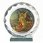 Guardian Angel & Children - round crystal on stand 85mm x 80mm Guardian Angel  Children  round crystal on stand 85mm x 80mm Please Click the image for more information.
