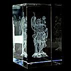 St Christopher (Man holding Child) Laser Picture in Rectangle Crystal Prism 80mm St Christopher Man holding Child Laser Picture in Rectangle Crystal Prism 80mm Please Click the image for more information.