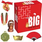 Not So Big Feng Shui Kit (  Not So Big Feng Shui Kit contains tiny brass flutes brochure ingot tiny red fan tiny buddha bagwa  3 tiny coins tied with red cordAnothe. Please Click the image for more information.