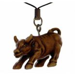 Small tan Ox hanging to hang on your bag or in car or indoors The Ox is a hard worker and represents beneficial outcome of hard workC. Please Click the image for more information.