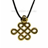 "Lucky Knot, High Quality Gold Pendant, ""Endless Good Fortune"" Lucky Knot High Quality Gold Pendant Endless Good Fortune Please Click the image for more information."