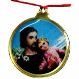 St Anthony, Round Coloured Pendant on Red Cord, Pack of 5 St Anthony Round Coloured Pendant on Red Cord Pack of 52 packs of 5 for the price of one Please Click the image for more information.