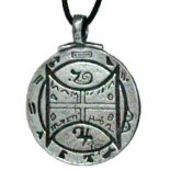 Animals &quot;Communication with all Creatures&quot; Silver Pendant on Black Cord