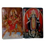 Kali and Durga Two Goddess fridge magnets Kali and Durga Please Click the image for more information.