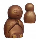Jizo Jizo statue adorable sitting Jizo with tilted head and hands in prayer Please Click the image for more information.