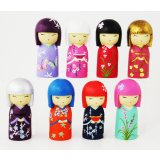Japanese Girls 8 Assorted 10cm (SET 8) These gorgeous little Japanese Girls are sure to light up the room Give them a home at your place today . Please Click the image for more information.