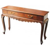 Maison 2 Drawer Carved Sofa Table - Mahogany This shabby chic Maison 2 Drawer Carved Sofa Table is both functional and beautiful Made by professional craftsmen it has 2 Drawers with brass handles and is hardwearingAvai. Please Click the image for more information.