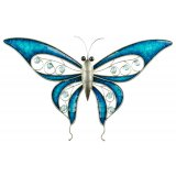 Blue Butterfly Jewels Wall Art (large) This gorgeous metal butterfly with jewels is the perfect piece to add some colour and unique style to your home. Please Click the image for more information.