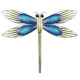 Blue Dragonfly Lines Wall Art (large) This gorgeous metal dragonfly is the perfect piece to add some colour and unique style to your homeThis wall art is modern with character and fantastic quality ready to hang and suitable for both indoor and outdoor useAt Tig. Please Click the image for more information.