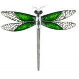 Green Dragonfly Peace Wall Art (large) This gorgeous metal dragonfly is the perfect piece to add some colour and unique style to your homeThis wall art is modern with character and fantastic quality ready to hang and suitable for both indoor and outdoor useAt Tig. Please Click the image for more information.
