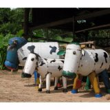 EE-I-EE-I-O Clarence the Cow Metal Sculpture This eclectic range of hand made sculptures is full of fun and character 100 derived from 44 Gallon drums it gives a fresh new look to recycling A. Please Click the image for more information.