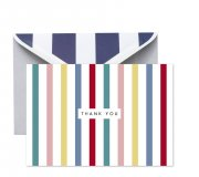 NEW - MULTI-STRIPE THANK YOU boxed set 8 cards  Please Click the image for more information.