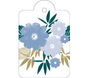 NEW - blue posy tag  Please Click the image for more information.