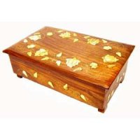 Jewellery box rose design