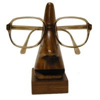 Spectacles holder Hand carved spectacle holder in polished teak wood Please Click the image for more information.