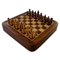 25cm Magnetic chess set w/draw 25cm Magnetic chess set with drawer Please Click the image for more information.
