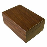 Box with rounded edges in natural wood finish. Box with rounded edges in natural wood finish  This comes in three sizes Please Click the image for more information.